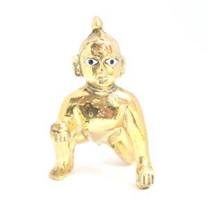 Laddu Gopal Ji Idol Brass