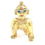 Laddu Gopal Ji Idol Antique Asht Dhatu