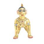 Bal Radha Ji Idol Panch Dhatu Make over Brass