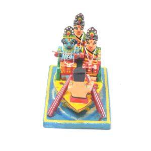 Nauka Vihar Leela Wooden Showpiece